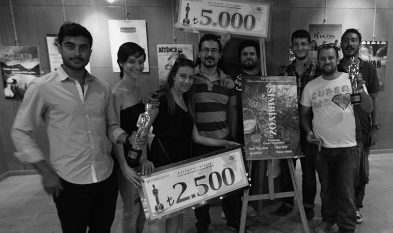 Yeşil Kamera Uluslararası Kısa Film Yarışması'nda DAÜ öğrencileri bir birincilik bir de ikincilik ödülü almışlardı